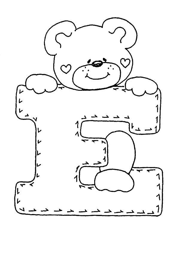 ausmalbilder Buchstaben E | Basteln | Pinterest | Alphabet ...