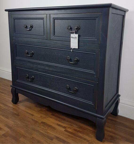 Mackintosh Distressed Wood 4 Drawer Chest Only 145 Bedroomfurniture Chestofdrawers Shabbychic