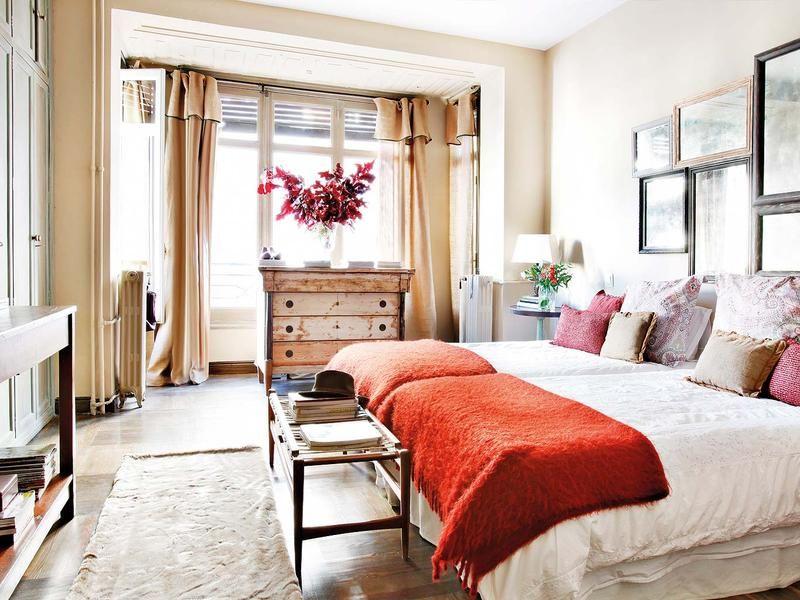 En esta casa triunfa el clásico chic   Dos camas gemelas, Camas ...