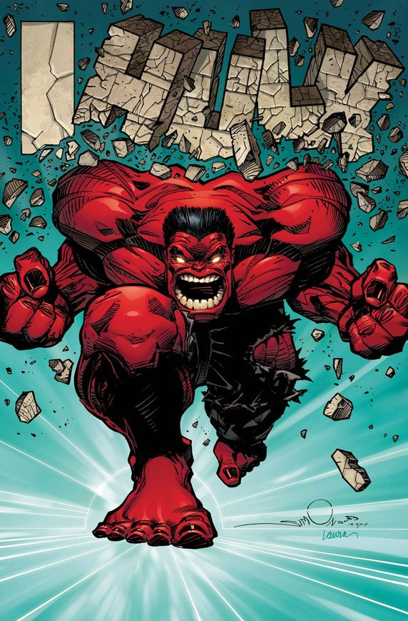#Red #Hulk #Fan #Art. (HULK #50) By: Walter Simonson. (THE * 5 * STÅR * ÅWARD * OF: * AW YEAH, IT'S MAJOR ÅWESOMENESS!!!™)[THANK U 4 PINNING!!!<·><]<©>ÅÅÅ+(OB4E)