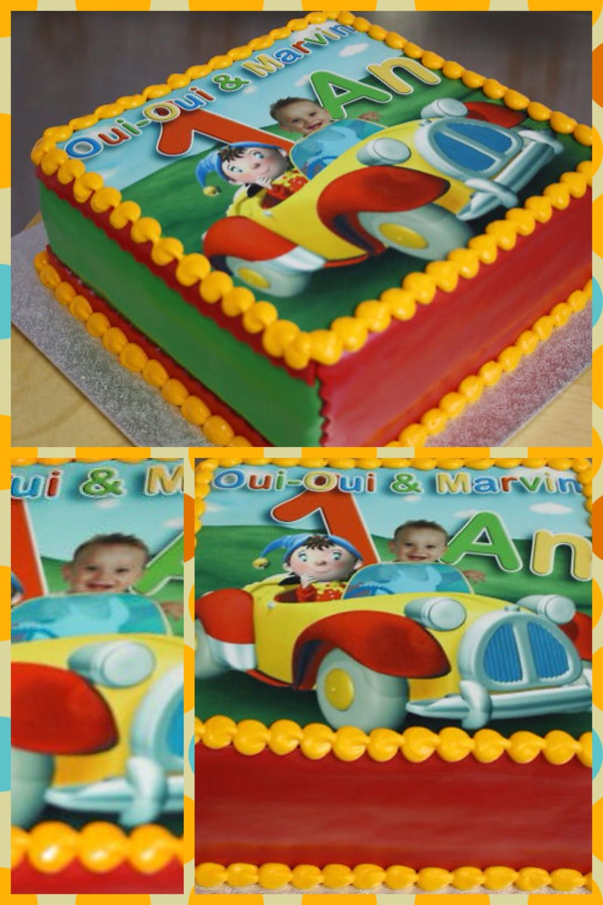 Noddy Birthday Cake Noddy Cake Kids Meals Boy Birthday