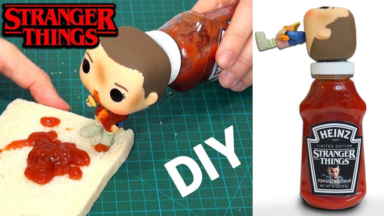 Cómo Hacer Stranger Things Ketchup Heinz Edición Limitada Diy En Español Cómo Hacer Diy Ketchup