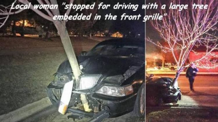 A lot of bad drivers out there you can never be too