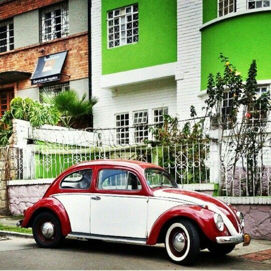 El #VW Beatle muy buena foto de @jimmypons  en #Bogota #igerscolombia
