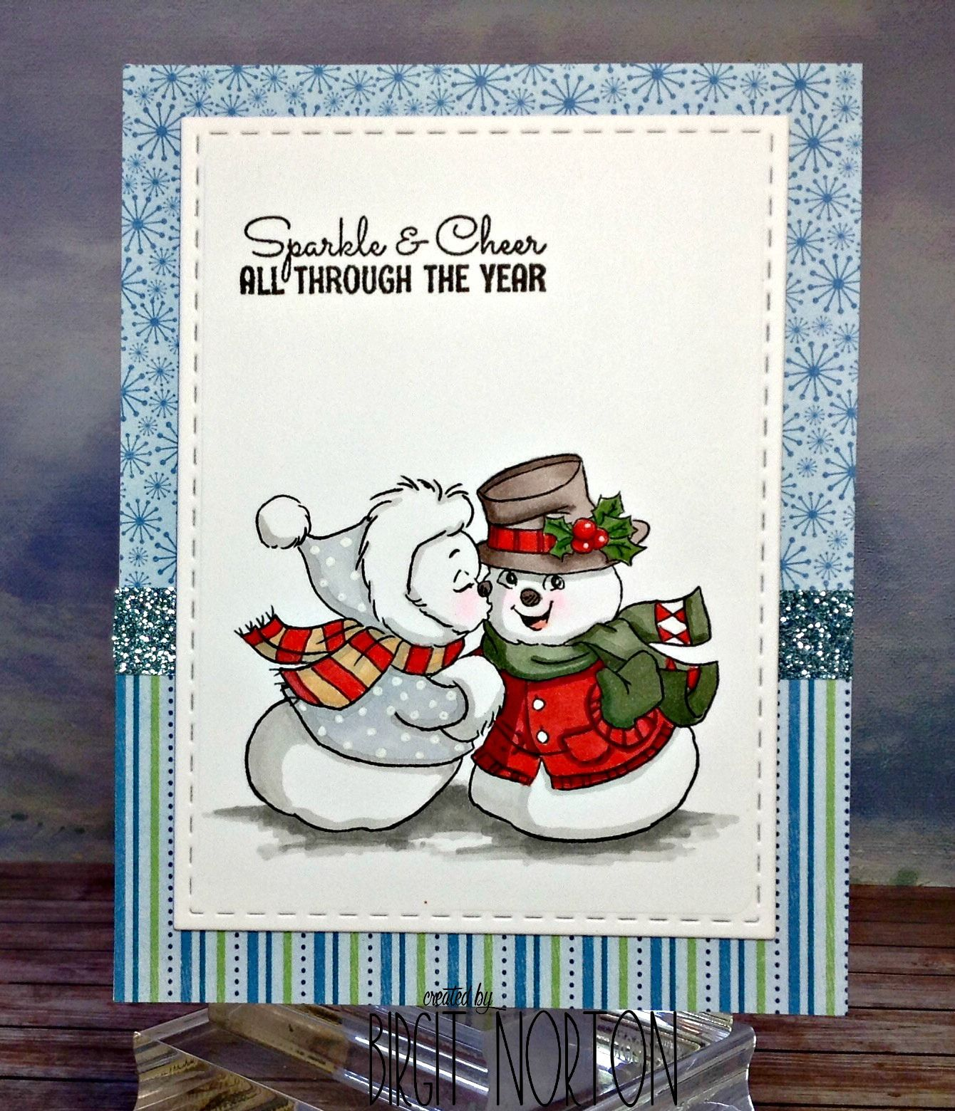 Cards, Snowman Cards, Art Impressions Stamps