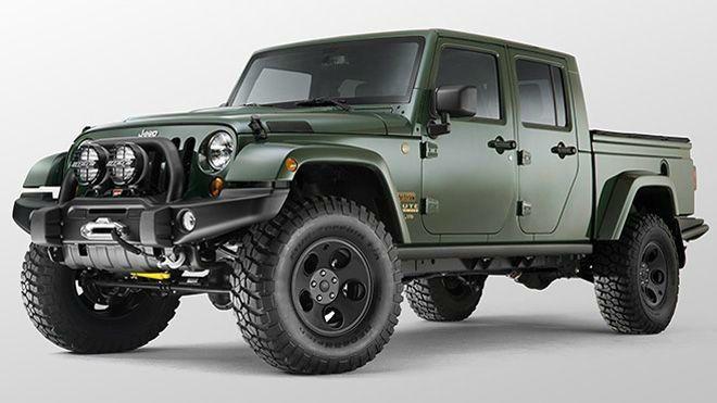 2017 Jeep Wrangler Truck 1