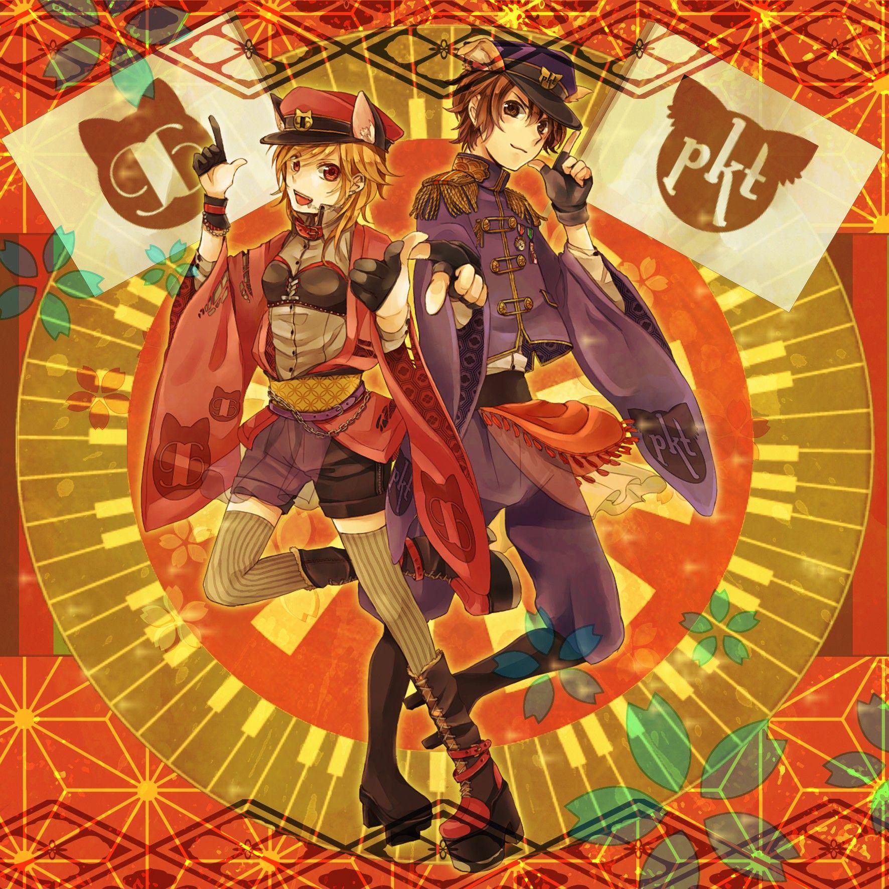 Tags: Nico Nico Singer, Pokota (Nico Nico Singer), 96neko, Senbon Sakura, Pixiv Id 317290