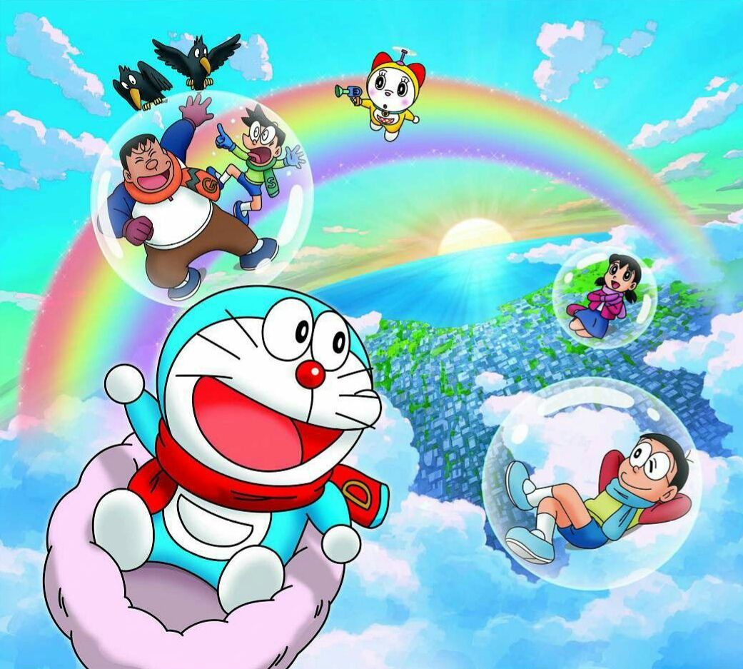 Here's from 11th comic series ,originally writen by Fujiko Fujio. those are  in Indonesian. explaining part of doraemon body. one of that part (the one  I ...