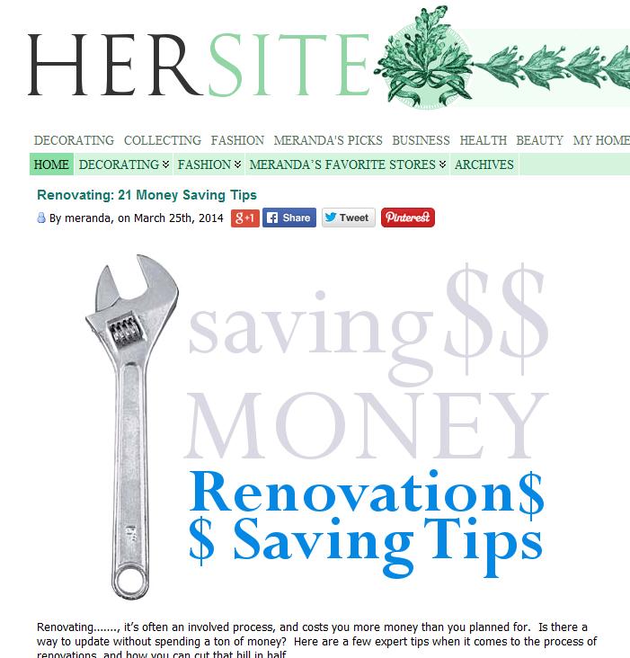 Money Saving Tips For Home Renovation: Pin By Meranda Devan On DIY Home Decor