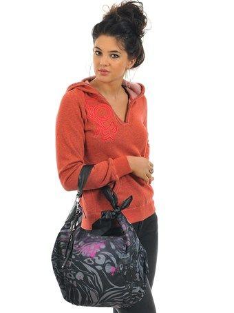 Fox Black Comeback Hobo Womens Handbag   Fox   FreestyleXtreme
