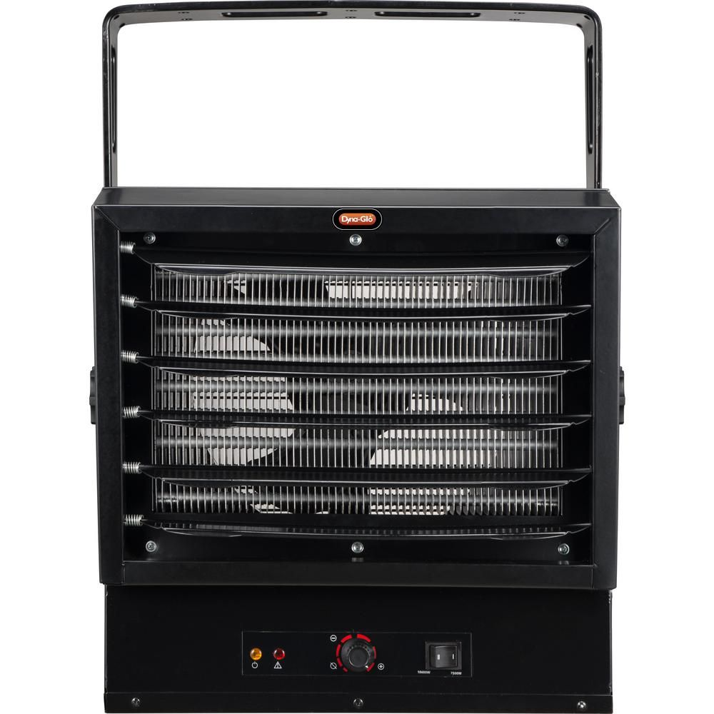 Dyna Glo 10 000 Watt Electric Garage Heater Black Garage Heater