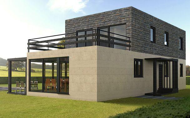 Casas modulares prefabricadas Cube u2013 Cube 175 Modelos estándar de - casas modulares