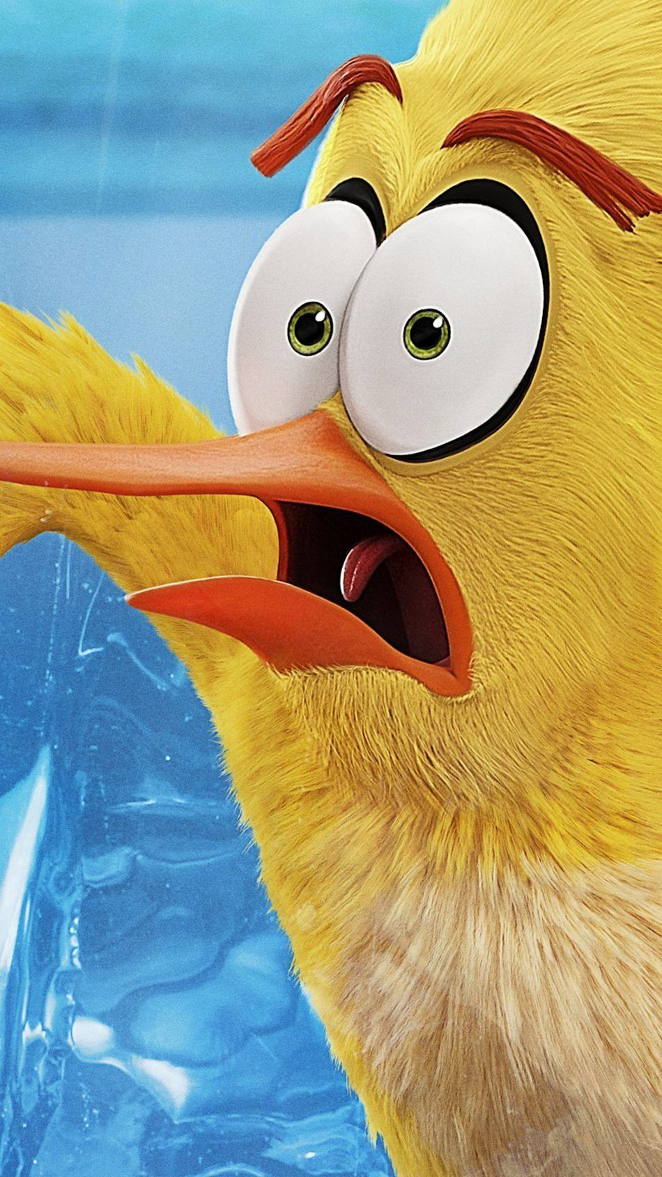 Bird Beak Yellow Close Up Illustration Mascot In 2020 Angry Birds Angry Birds Movie Movie Wallpapers