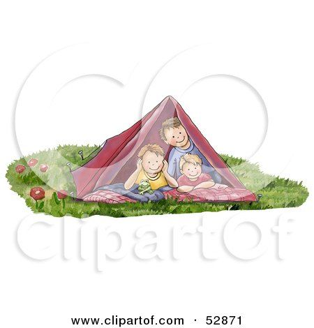 Image Result For Cute Camping Tent Clipart