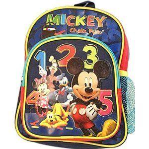 Disney Mickey Mouse Club House Mini Backpack http://amzn.to/IlyGSq