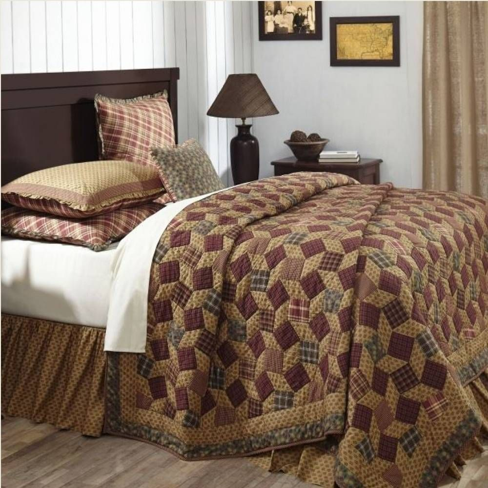 Napa Valley Quilted Bedding Features A Magic Squares