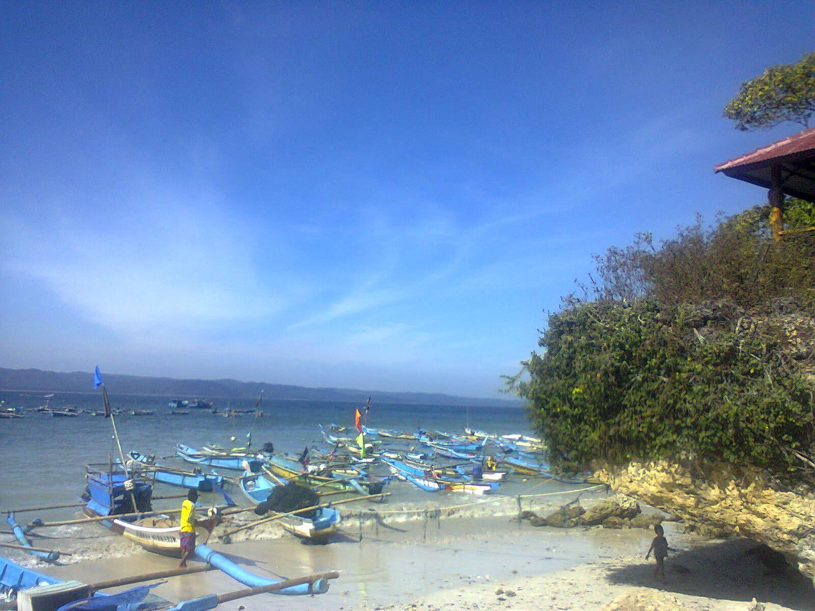 Dari Sudut Pantai Timur Pangandaran Tempat Parkir Para Perahu