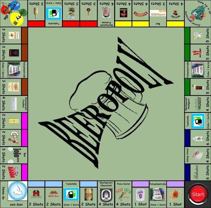 Beeropoly 5 drinking games for 2 people drinking games