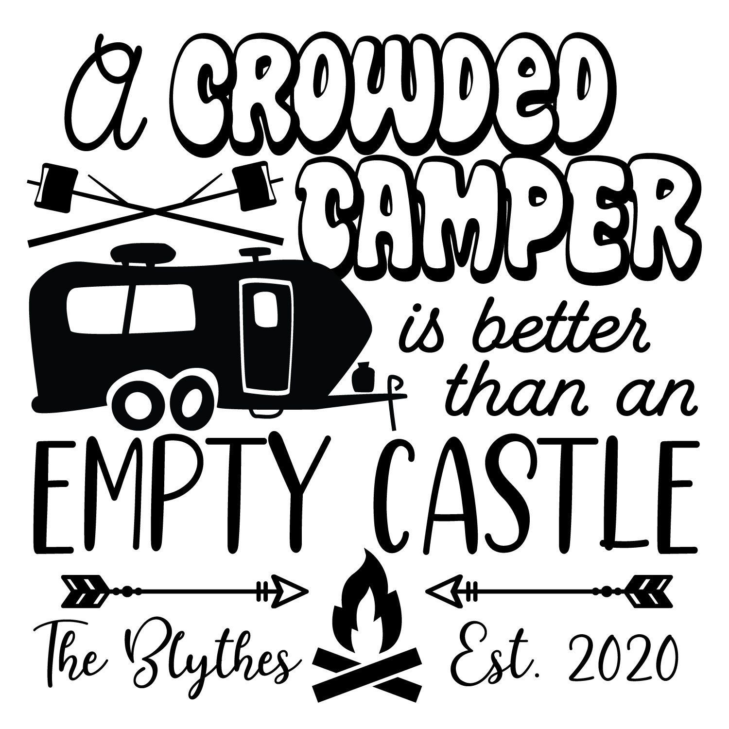 Official Covid-19 Quarantine Camping Vinyl Bumper Sticker Decal 5 This Is How We Quarantine By Camping In The Woods