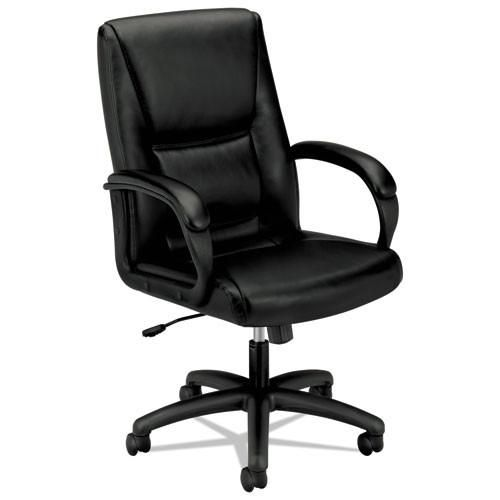 basyx by HON HVL161 Executive High-Back Chair in Black