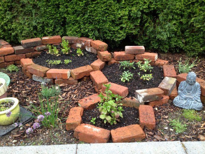 Creativas Ideas Para Adornar Tu Casa Con Ladrillos Cerca De Jardin Senderos De Jardin Ideas De Jardineria