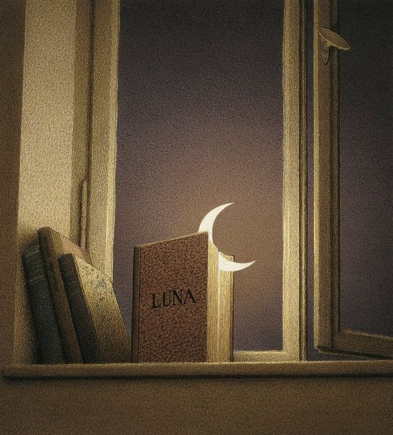 Moon in the book