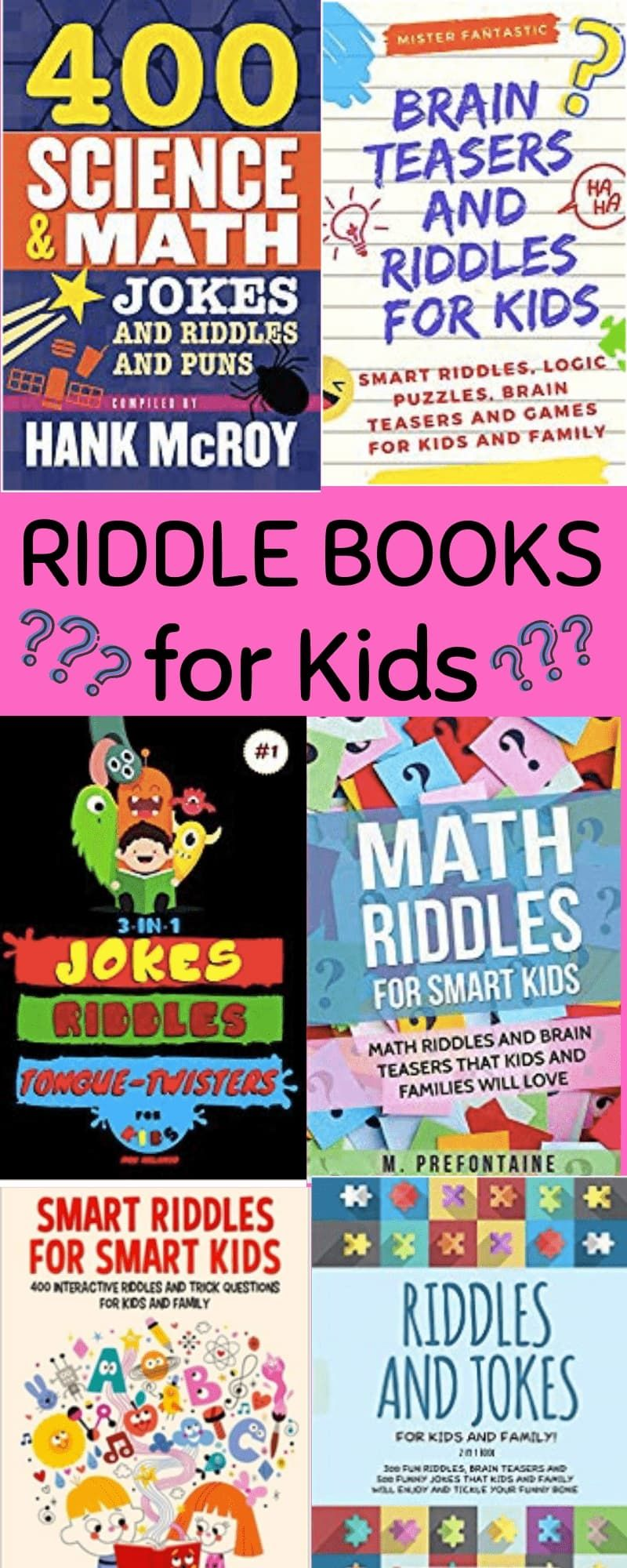 Find the best riddles for kids in these children's riddle