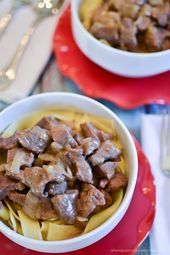 Photo of BlueHost.com-Blue…  Easy beef stroganoff made with stew me…