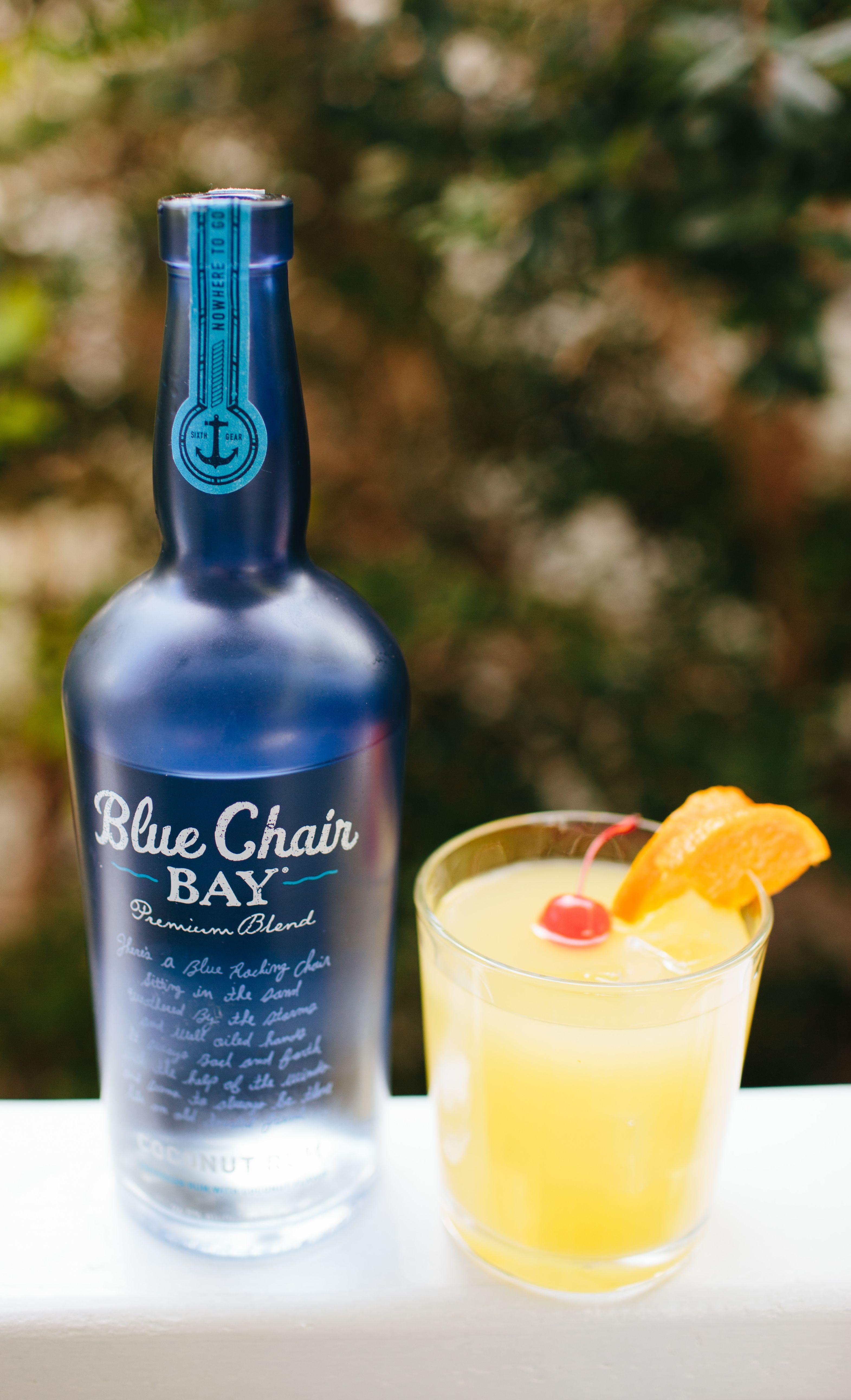 ISLAND GIRL COCKTAIL // 1.5 oz. Blue Chair Bay Coconut Rum