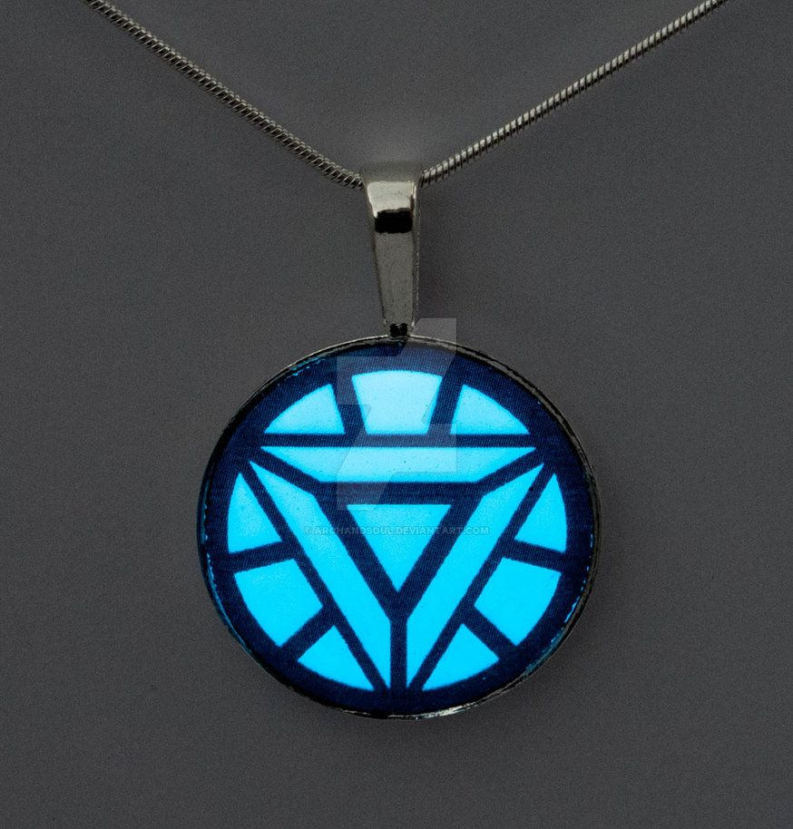 Glowing iron man arc reactor pendant by archandsoul on deviantart glowing iron man arc reactor pendant aloadofball Image collections