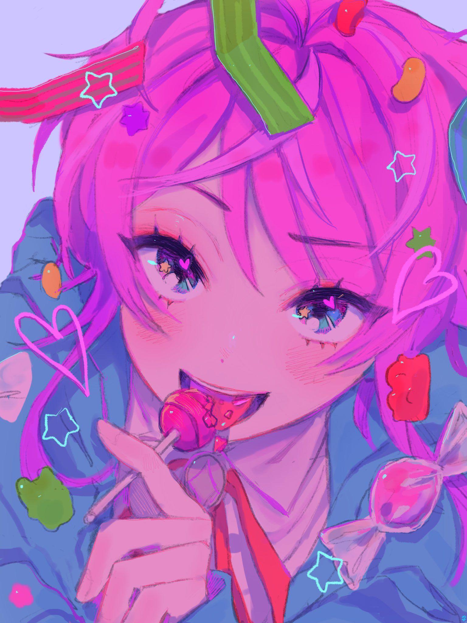 Pinterest Anime art girl, Anime art, Kawaii art