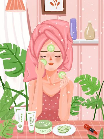 Beauty Skin Texture Realistic Girl Skincare Illustration, Beauty, Skin Care, Texture Realistic Illustration Image on Pngtree, Free Download on Pngtree