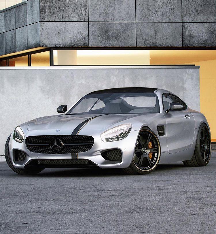 Ferrari Fastback: Cars 2016 Mercedes-AMG GT By Wheelsandmore Looks