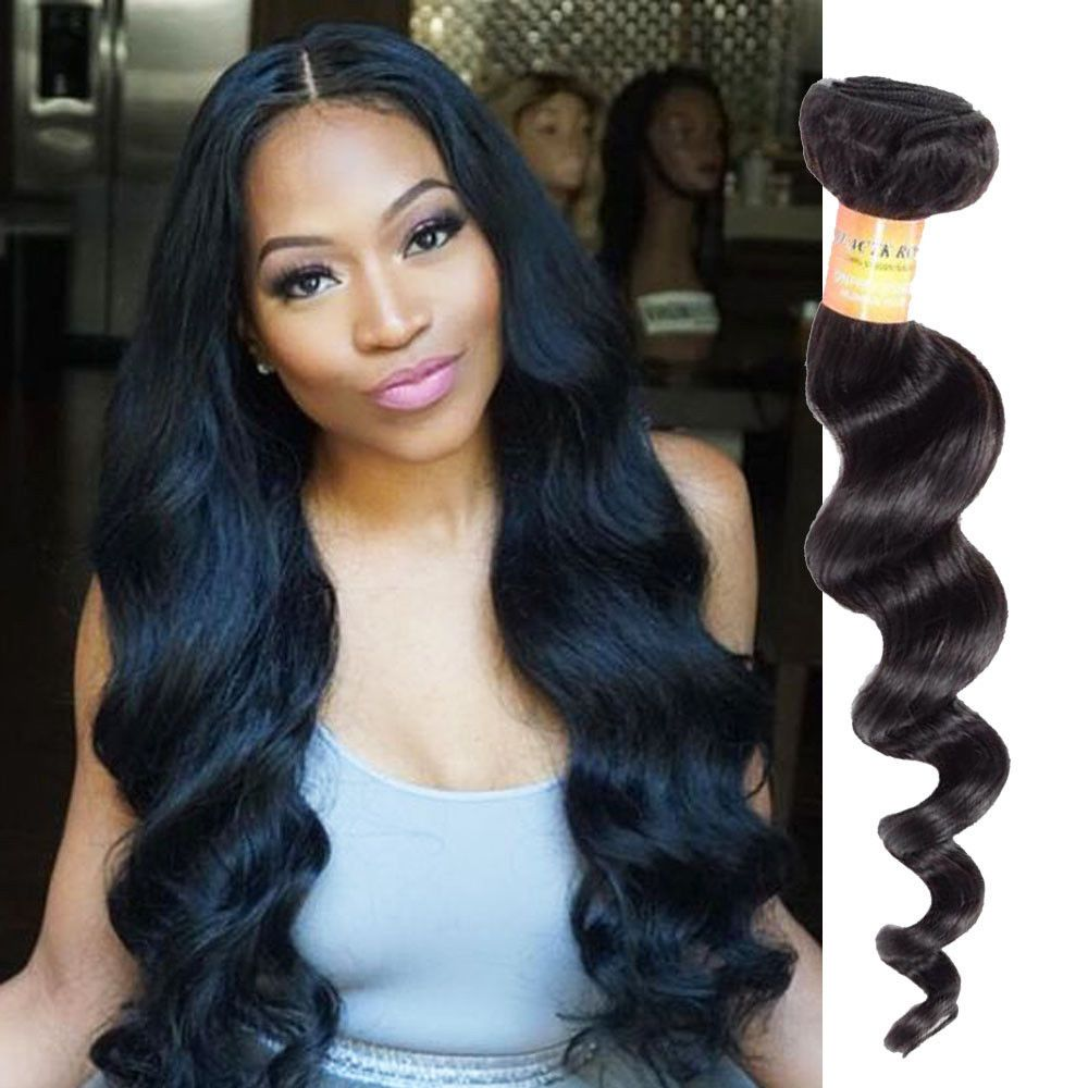 300g Brazilian Ombre Real Human Hair Extension Loose Deep Wave Hair