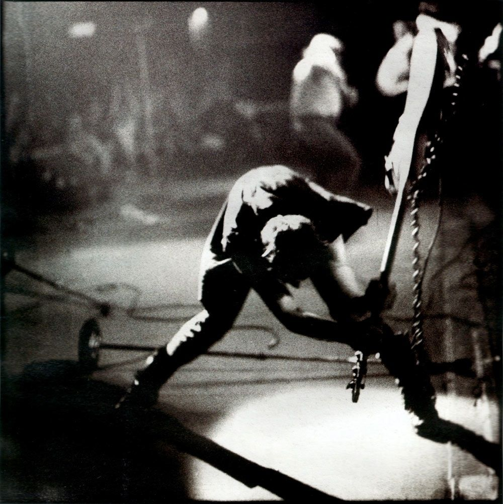 London Calling original album cover photograph, The Clash, 1979.