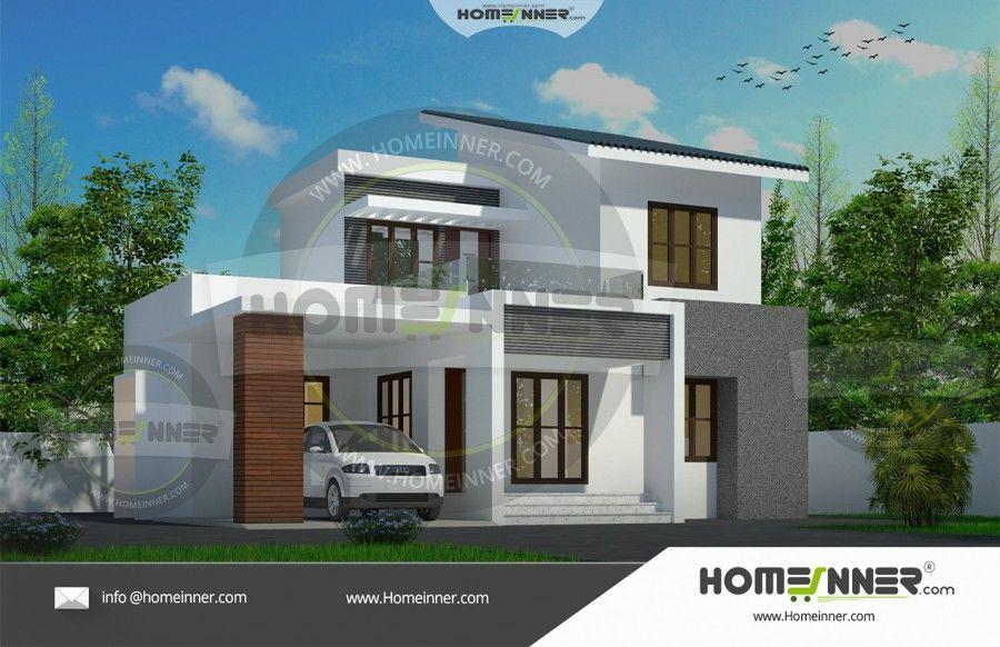 1400 Sq ft Duplex Home Plan Details | Architectural house ...