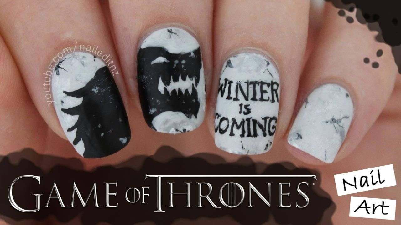 Game of Thrones Nail Art | Cosas para comprar | Pinterest ...