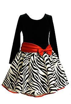 ec07caeec Bonnie Jean® Zebra Drop Waist Dress Girls 7-16 for Christmas - will ...