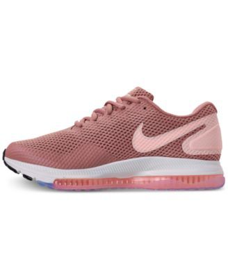 cheap for discount afd25 ba681 Nike Womens Zoom All Out Low 2 Running Sneakers from Finish Line - Red 6.5