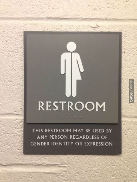 anal sex bathroom sign people