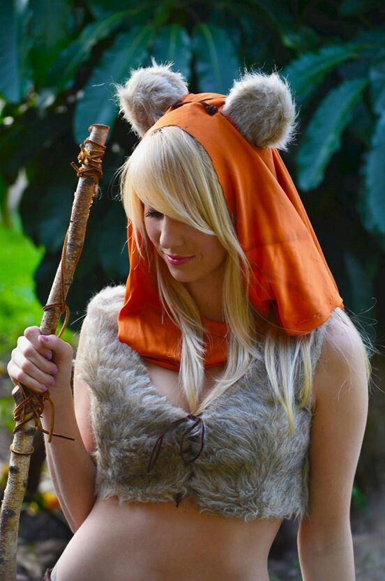 never thought i would see an ewok like this cosplay pinterest