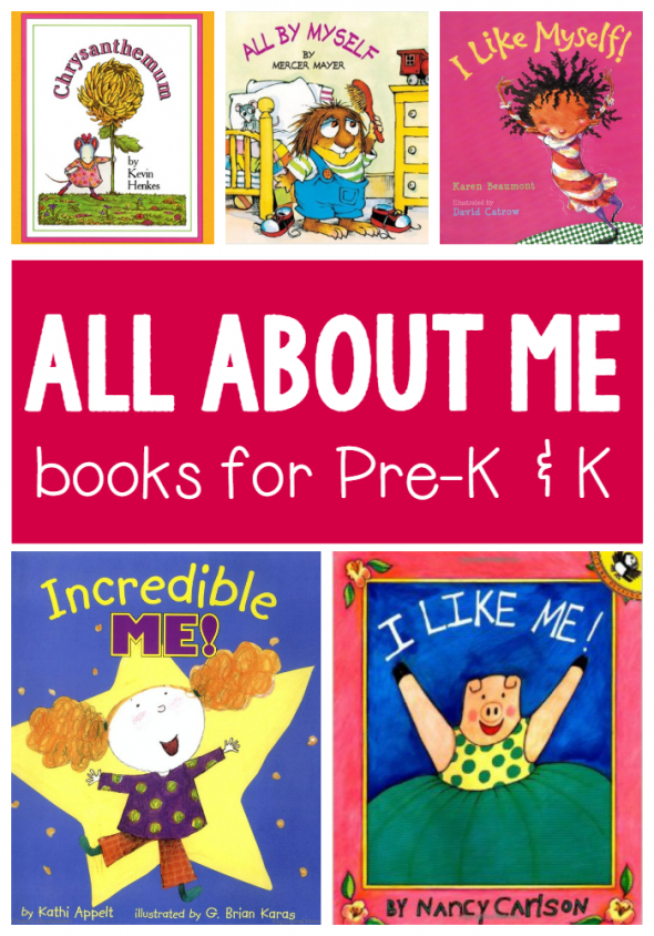 All About Me Books For Preschool And Kindergarten Best Of The