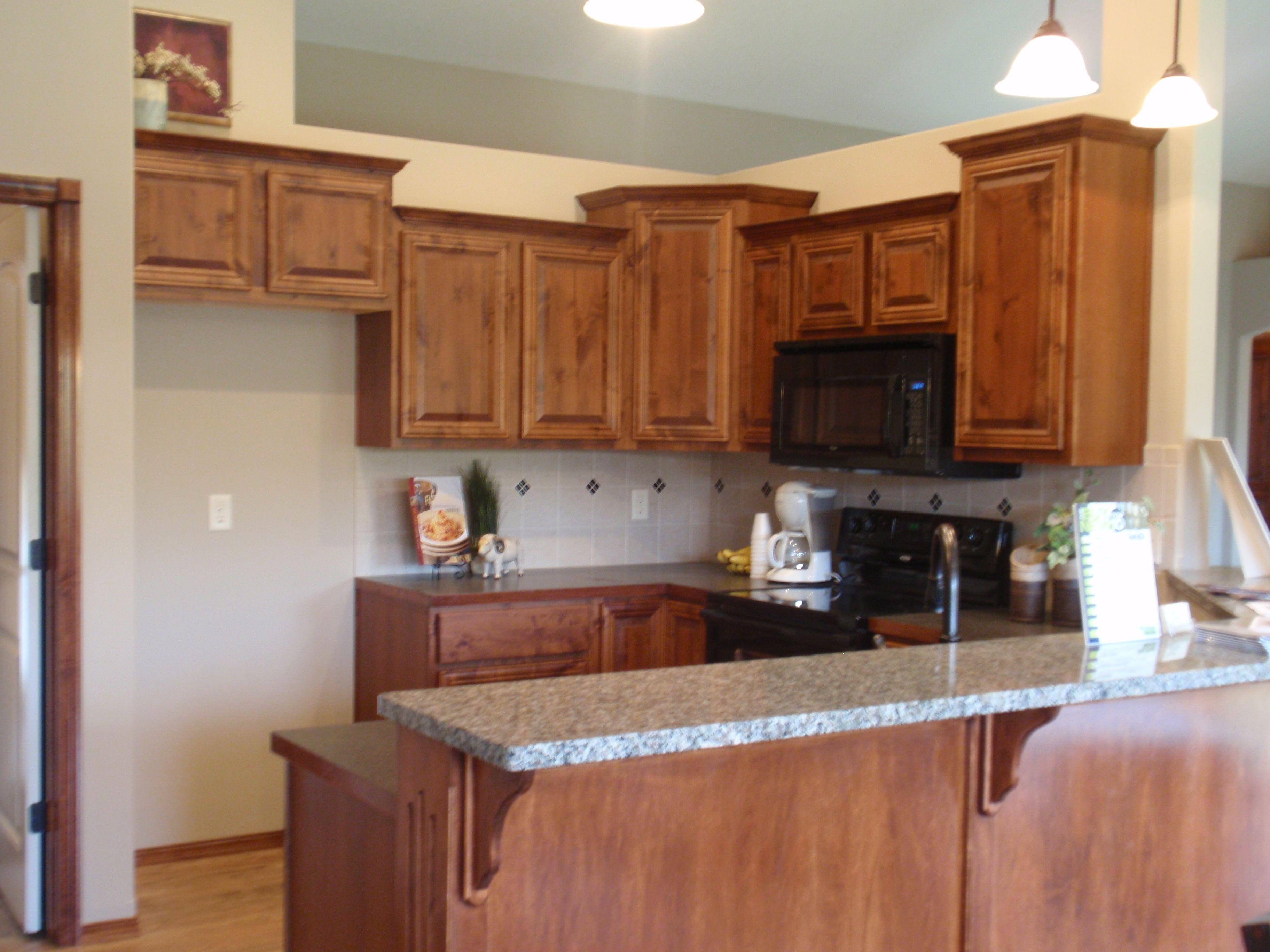 Cabinets :)   Alder kitchen cabinets, Hickory kitchen ...