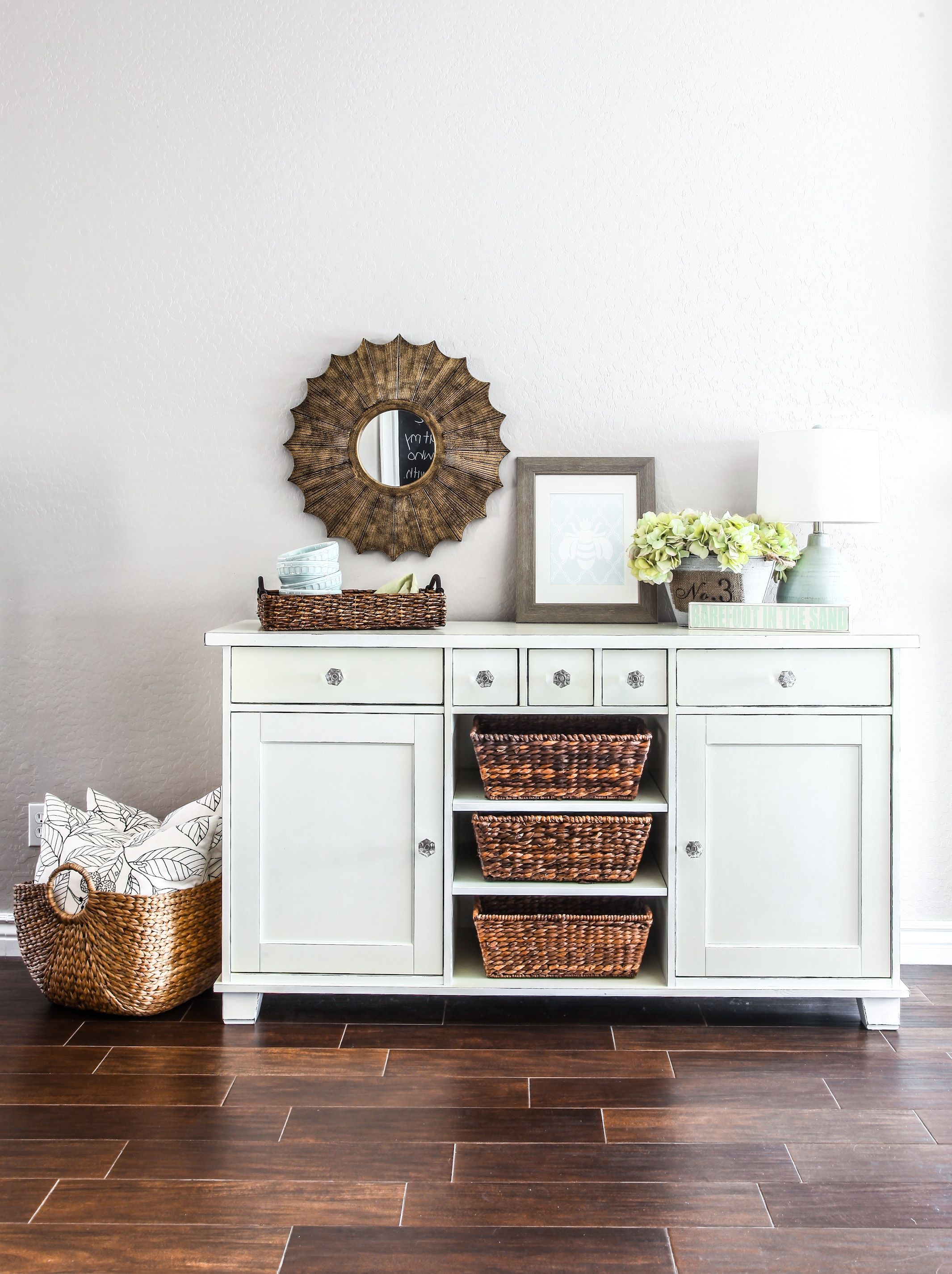 Ikea Buffet Makeover | Pinterest | Ikea makeover, White buffet and ...