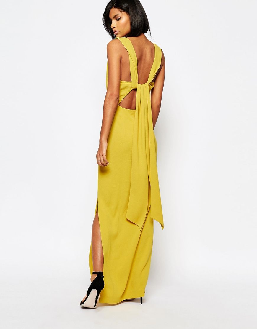 951612d150f4 Whistles Tie Back Maxi Dress | STYLE INSPIRATION. | Dresses, Navy ...