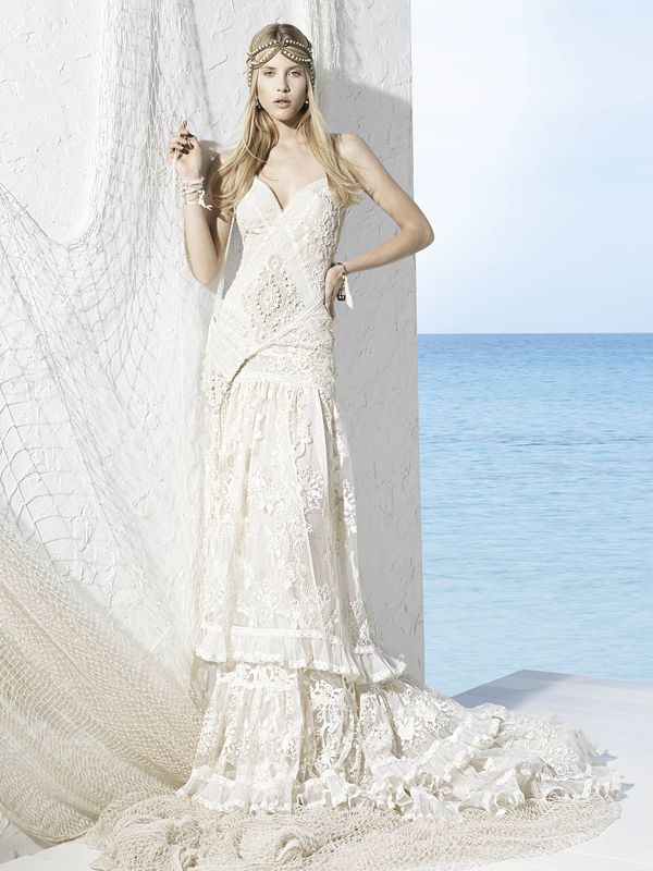 YolanCris – Seven Promises   Brautkleid hippie, Hochzeitskleid und ...
