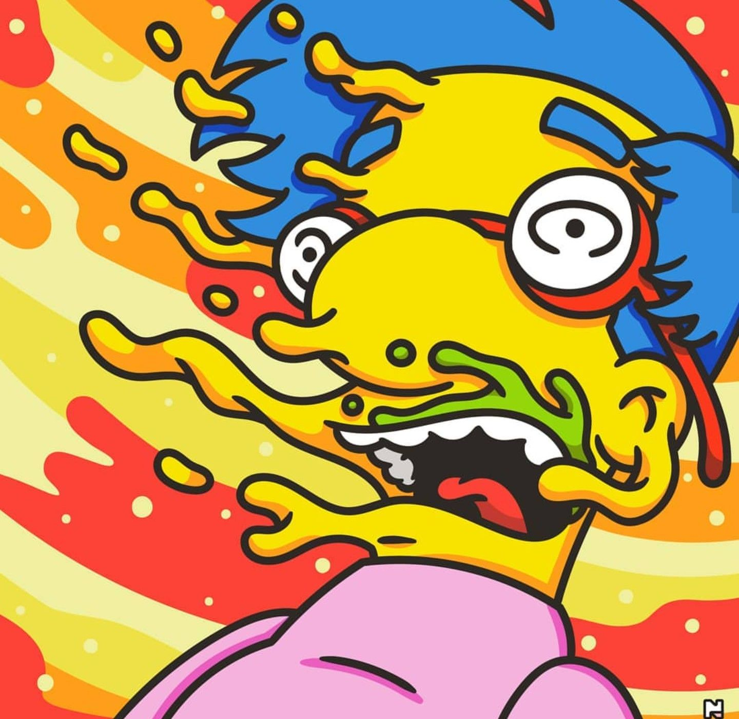 35+ Trends For Trippy Cartoon Drawings Simpsons - Karon C