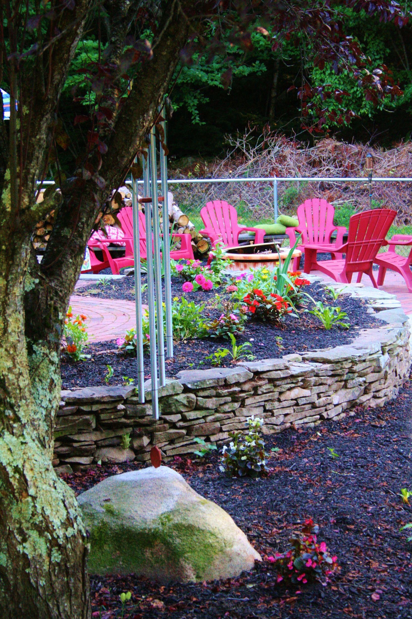 Firepit area | Backyard firepit area, Backyard fire, Fire ...