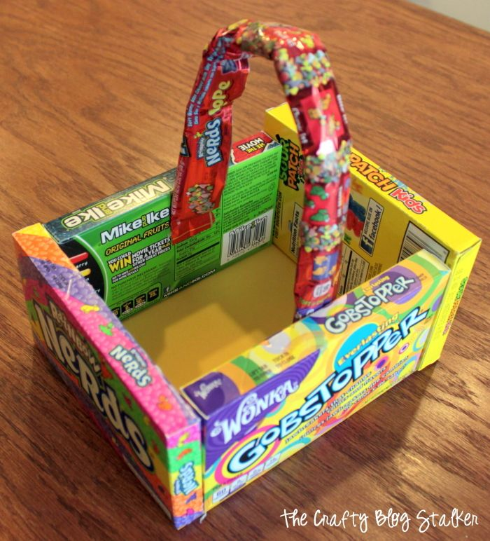 How to make a candy easter basket easter baskets easter and easy diy crafts negle Image collections