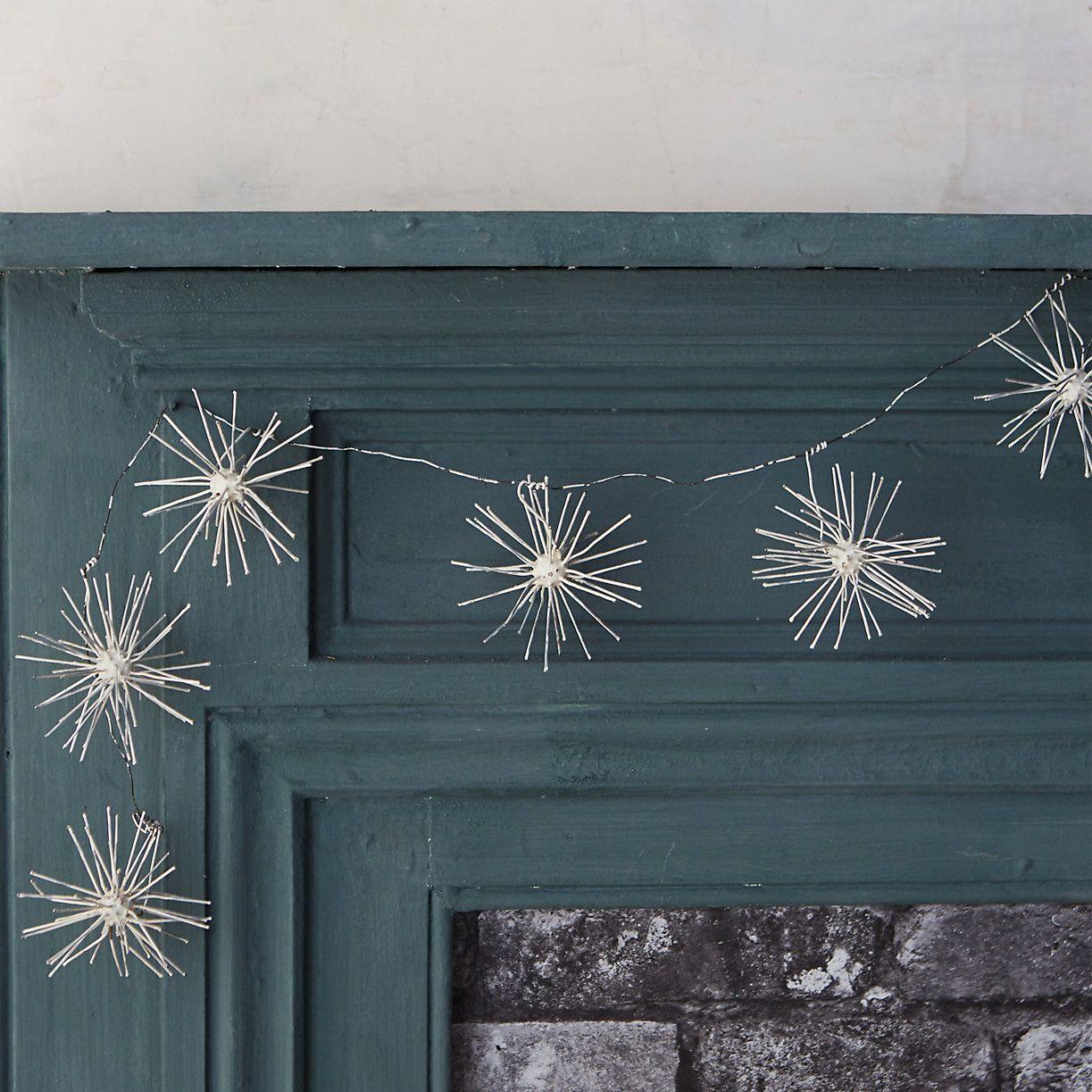 Terrain Metal Allium Holiday Christmas Garland
